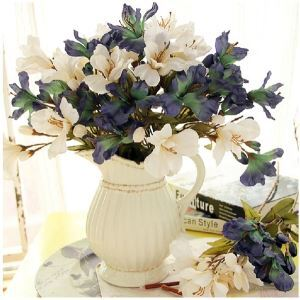 Lilie Kunstblume+Vase