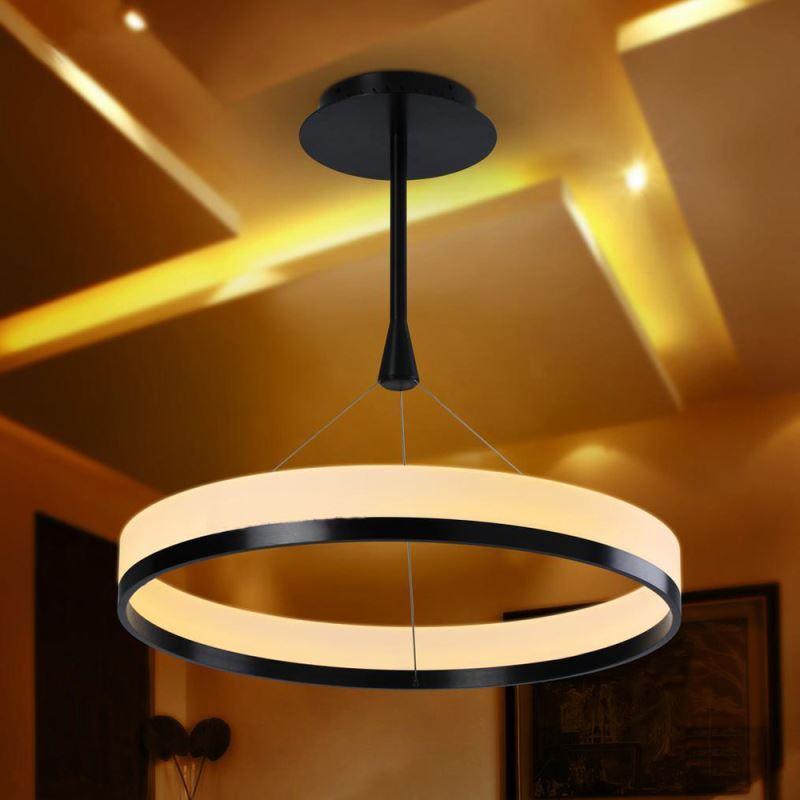 sch ne g nstige led pendelleuchte modern acryl mimilampe led ringe. Black Bedroom Furniture Sets. Home Design Ideas