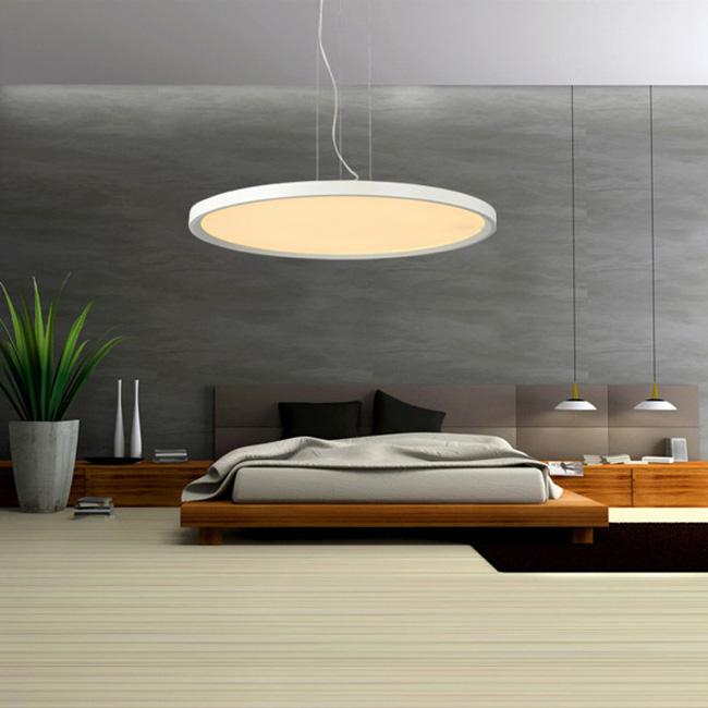 sch ne g nstige led pendelleuchte modern aus ringe polyester. Black Bedroom Furniture Sets. Home Design Ideas
