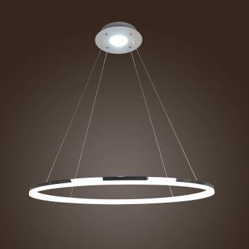 sch ne g nstige modern led pendelleuchte polyester minilampe aus ringe. Black Bedroom Furniture Sets. Home Design Ideas