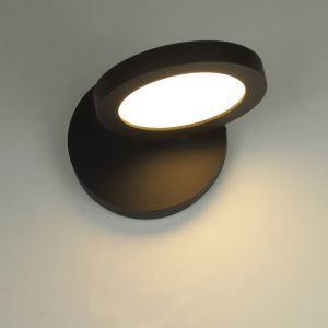 (EU Lager)Modern LED Wandlampe Eisen Wandleuchte 350° drehbar Polyester Schirm