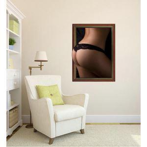(EU Lager)3D Wandtattoo-Sexy Nackt-PVC Fototapete