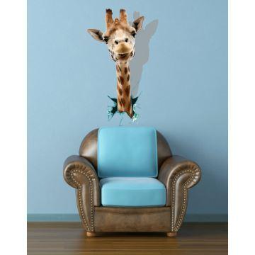 Schon Gunstig 3d Wandtattoo Giraffe Kopf Pvc Fototapete