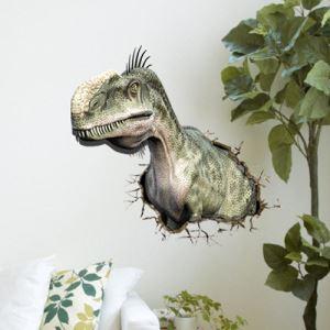 (EU Lager)3D Wandtattoo Dinosaurier PVC Fototapete