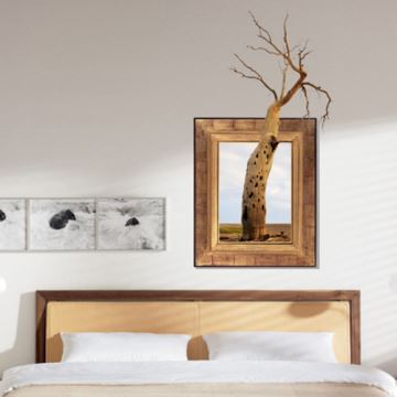 (EU Lager)3D Wandtattoo Baum PVC Fototapete