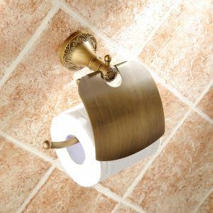 (EU Lager)Papierrollenhalter Bad Antik Messing Badezimmer Garnitur