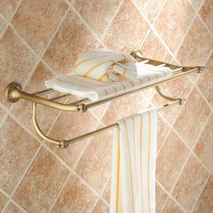 (EU Lager)Handtuchhalter Bad Antik Messing Bad-Accessoires