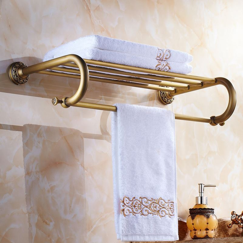 handtuchhalter bad wandmontage antik messing badaccessoires mit gro er auswahl. Black Bedroom Furniture Sets. Home Design Ideas
