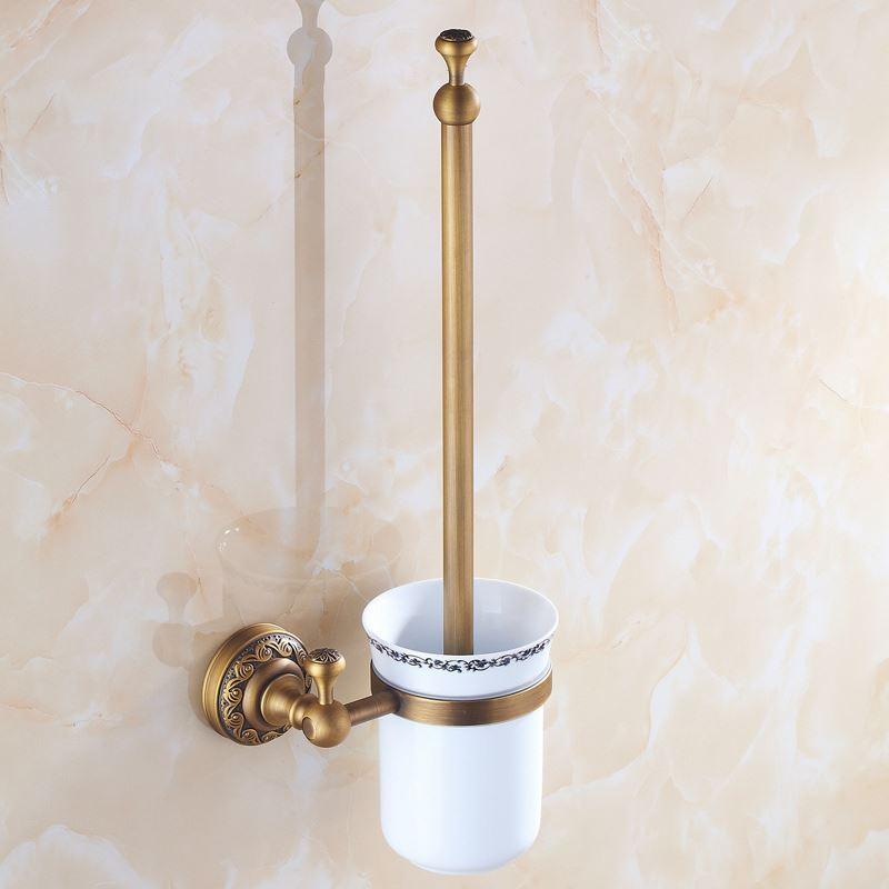 Toilettenbürstenhalter Antik Messing Badezimmer Garnitur Mit Großer Auswahl