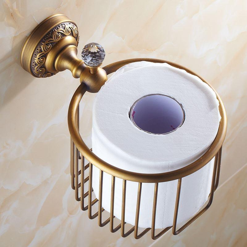 toilettenpapierhalter antik messing bad accessoires mit gro er auswahl. Black Bedroom Furniture Sets. Home Design Ideas
