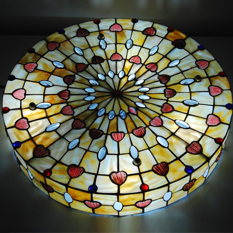 Günstig Tiffany Deckenleuchte Antik Landhaus Stil Glas ...