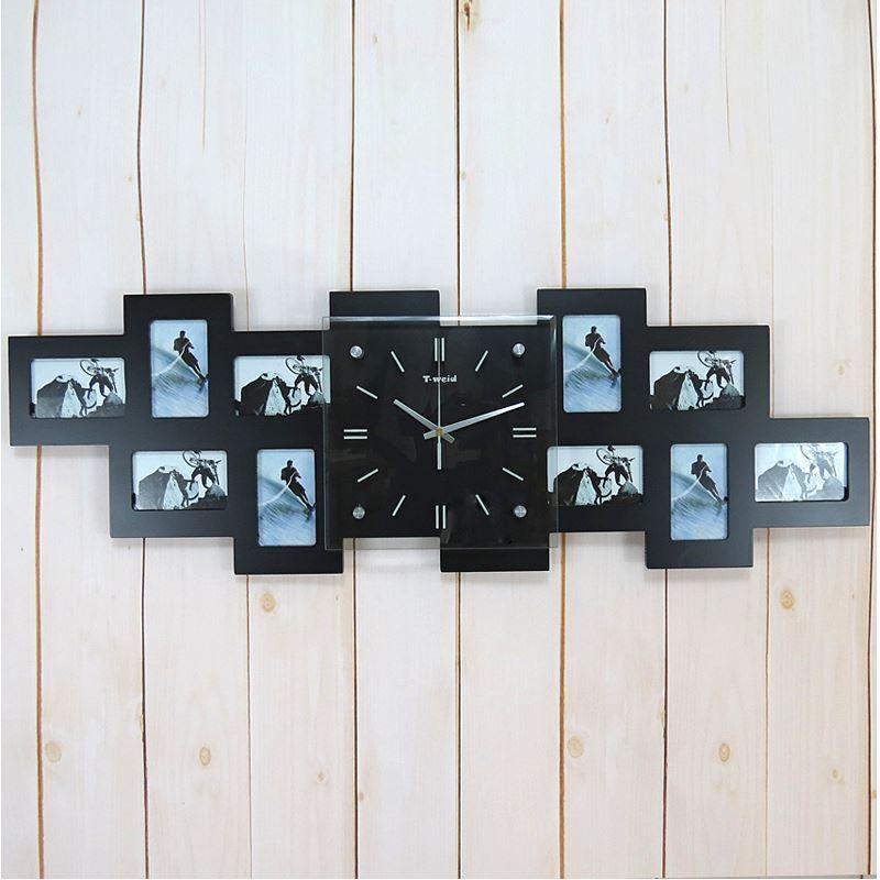 Hausdeko deko uhr bilderrahmenuhren wanduhr modern for Groaye wanduhr modern