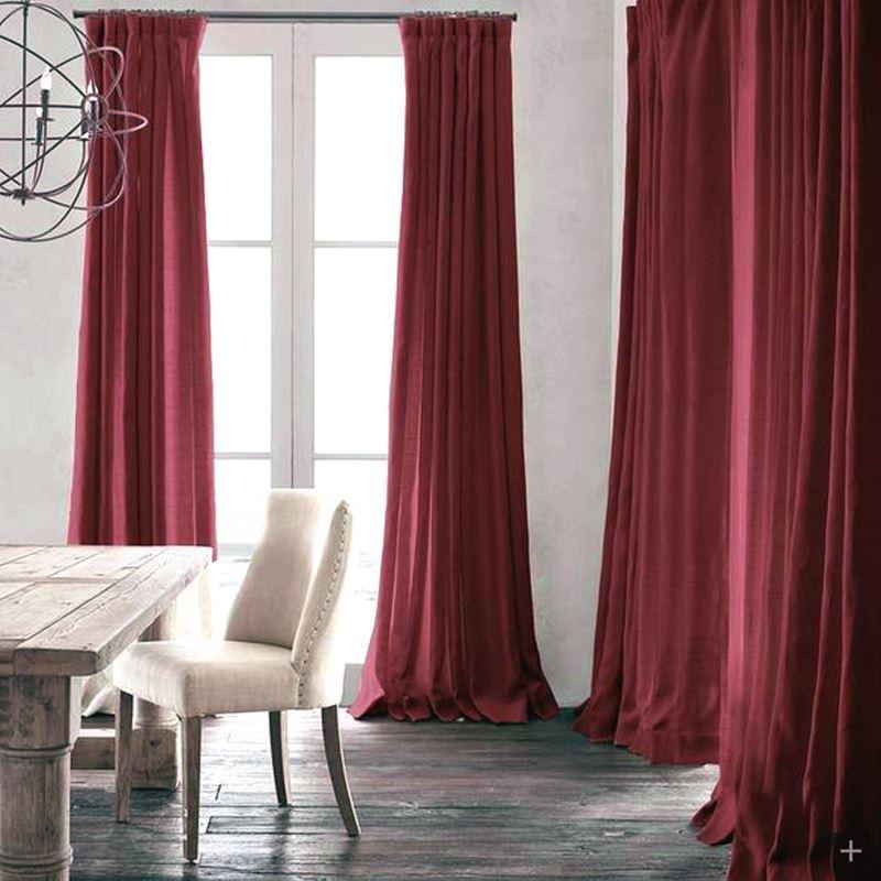 gardinen dunkelrot gardinen 2018. Black Bedroom Furniture Sets. Home Design Ideas