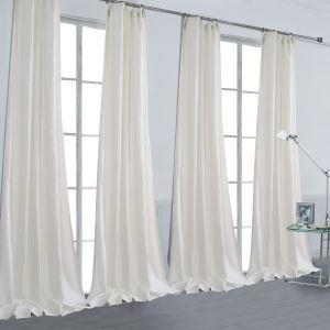 Vorhang Beige Leinen ( 1 Stück )