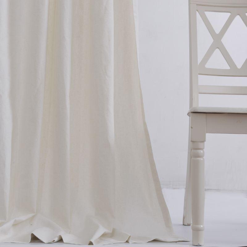 vorh nge verdunkelung gardinen vorhang beige leinen 1 st ck. Black Bedroom Furniture Sets. Home Design Ideas