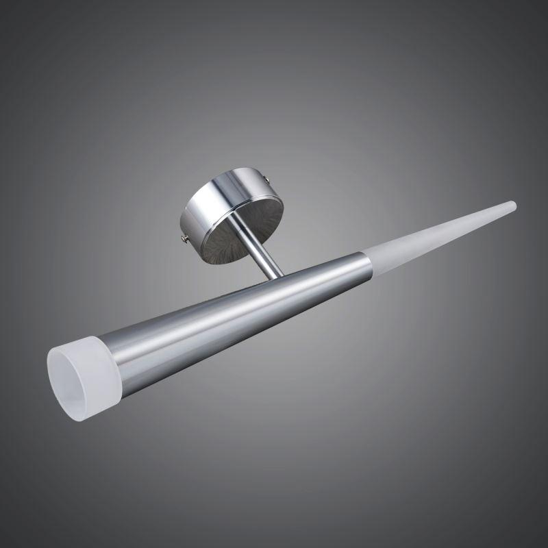 (EU Lager)Modern Wandleuchte Acryl LED 1 flammig Rund Silber