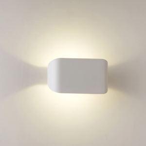 (EU Lager)Modern Wandleuchte Eisen LED 2 flammig Matt Weiß