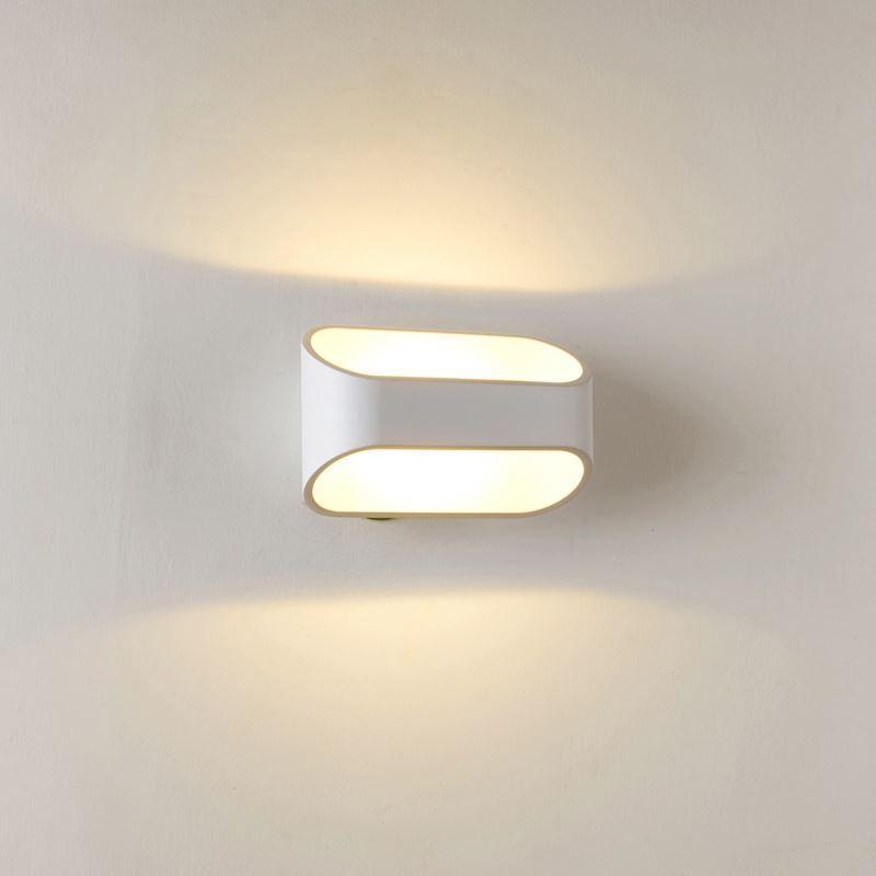 (EU Lager)Modern Wandleuchte Eisen LED 1 flammig Matt Wei?