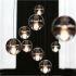 Zeige Details für (In Stock)Pendelleuchte Modern Kristall Galvanisiert Transparent Kugel Treppenhaus