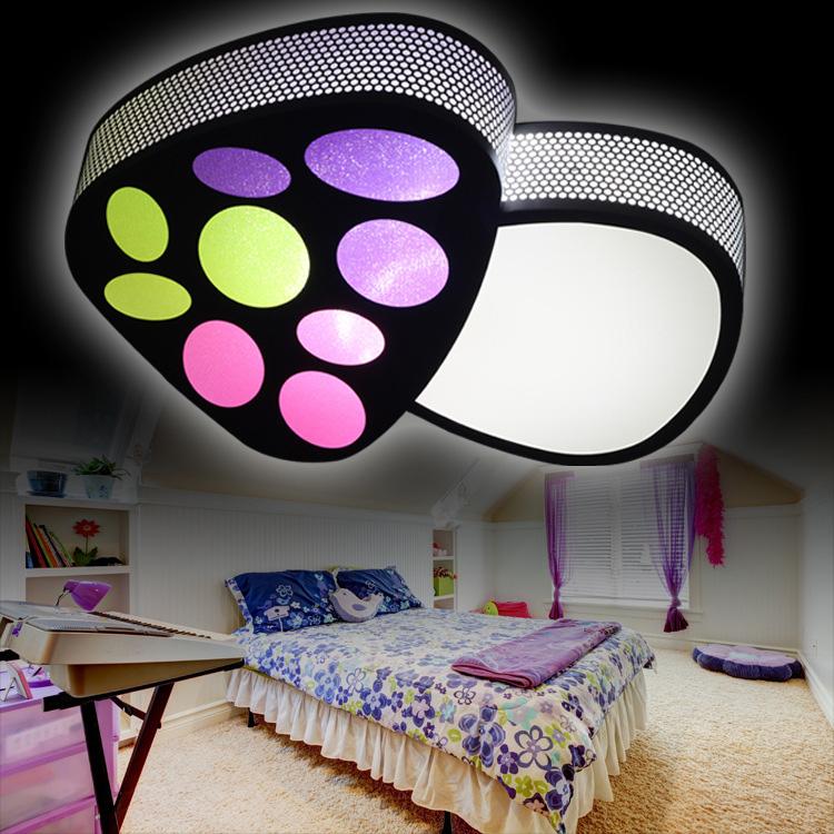 ausverkauft eu lager led deckenleuchte modern acryl malerei pilz. Black Bedroom Furniture Sets. Home Design Ideas