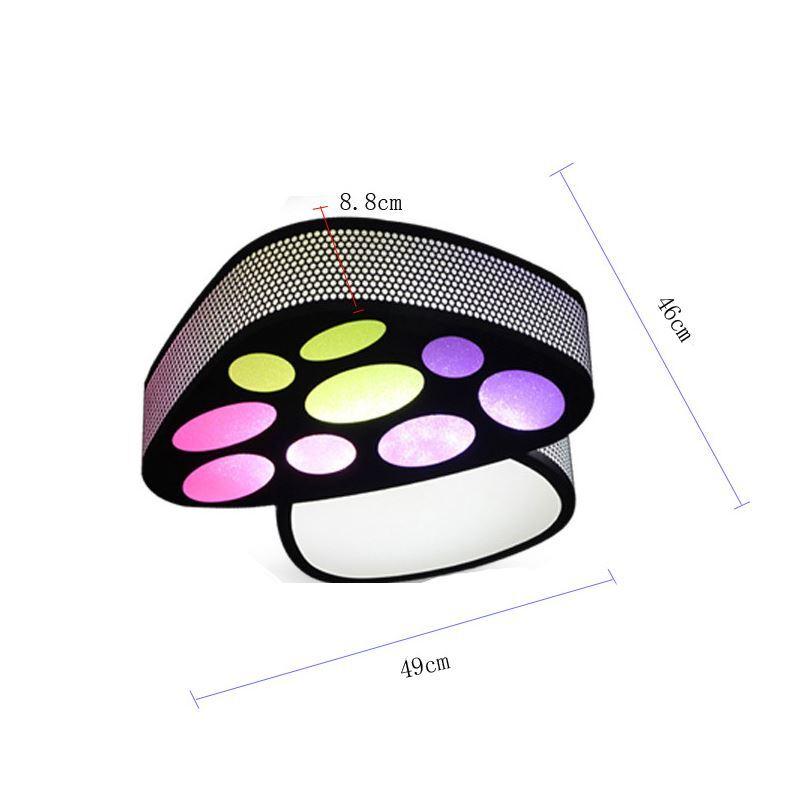 Wohnzimmerleuchte Led Malerei : Ausverkauft eu lager led deckenleuchte modern acryl