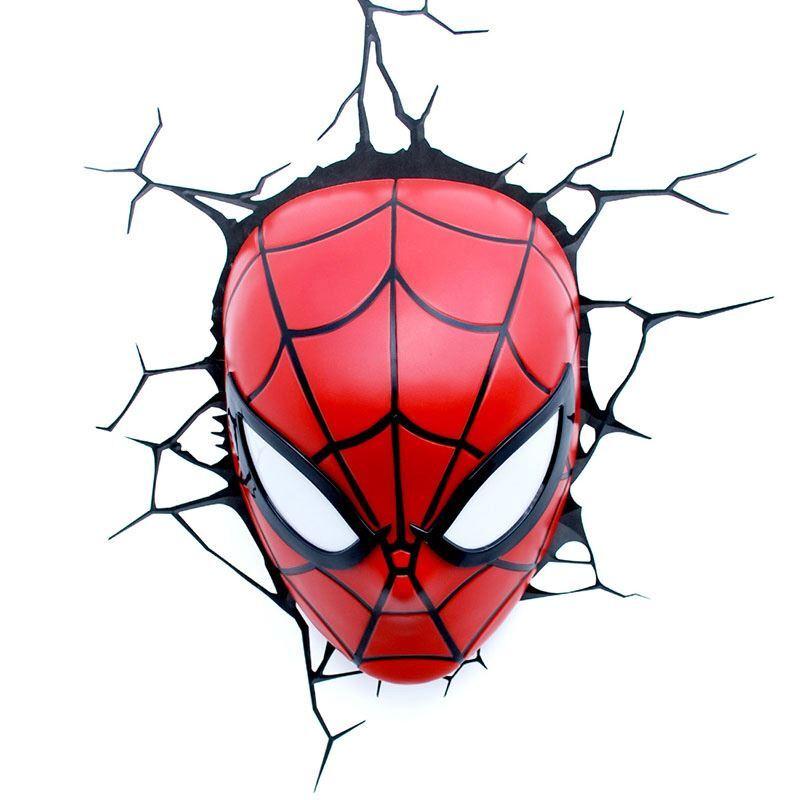 (EU Lager)3D Wandleuchte LED Modern Spiderman Design