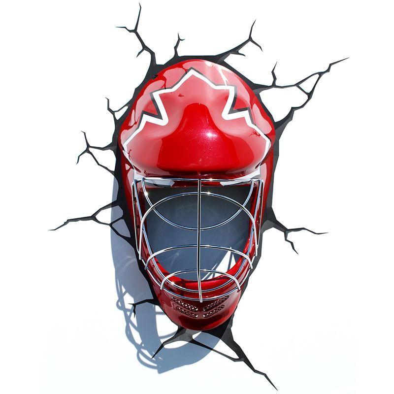 (EU Lager)3D Wandleuchte LED Modern Eishockey Helm Design