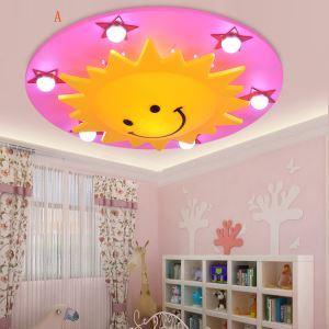 (EU Lager)LED Deckenleuchte Kinderzimmer Sonne Sterne