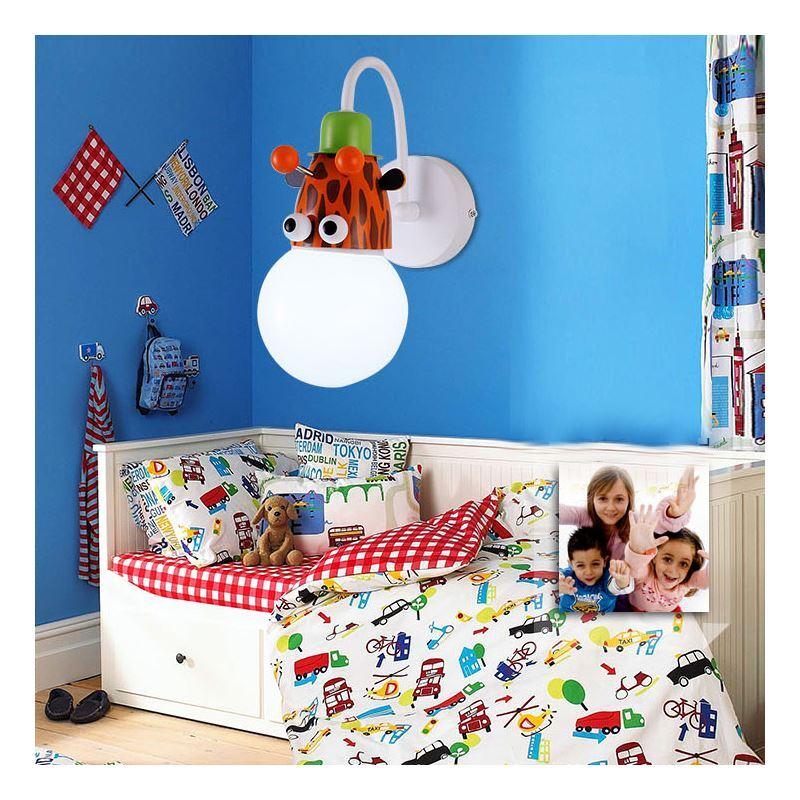 Beleuchtung wandleuchten eu lager wandleuchte kinderzimmer tier 1 flammig - Houzz kinderzimmer ...