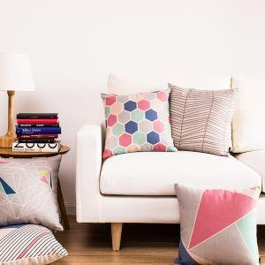 (EU Lager)Kissenhülle Modern Geometrisch Pink