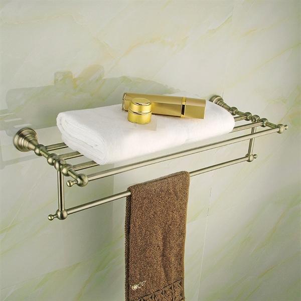 antik messing handtuchstange handtuchhalter sch nes f r ihr badezimmer bad. Black Bedroom Furniture Sets. Home Design Ideas