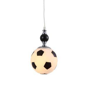 (In Stock)Modern Pendelleuchte Kinderzimmer Fußball Design 1-flammig