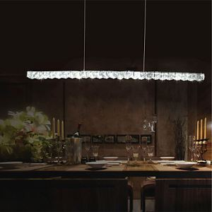 (EU Lager)LED Pendelleuchten Kristall Modern im Schlafzimmer