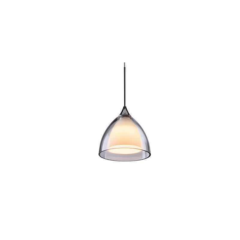 Ausverkauft - (EU Lager)Mini LED Pendelleuchte Modern Glas Schirm D11cm
