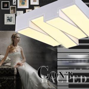 (EU Lager)LED Deckenleuchte Klaviertasten Design Modern Acryl Weiß