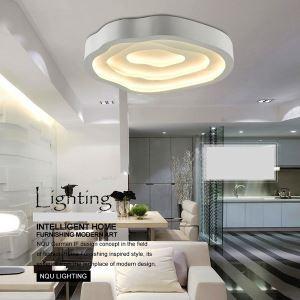 (EU Lager)LED Deckenleuchte Modern Acryl Weiß