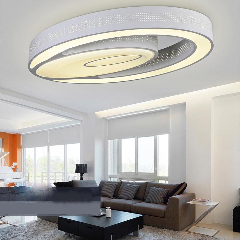 Deckenleuchte Modern eu lager versandkostenfrei led deckenleuchte modern aus acryl oval