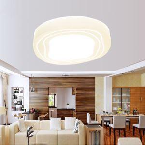 (EU Lager)LED Deckenleuchte Stein Design Modern Acryl Weiß