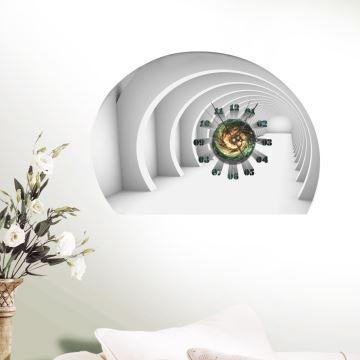 Hausdeko - Deko-Uhr - Kreative Wanduhren - (EU Lager)3D Wanduhr ...