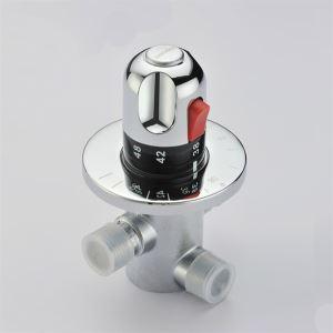 (EU Lager)Thermostat Chrom Ventil 0599-QH0211D
