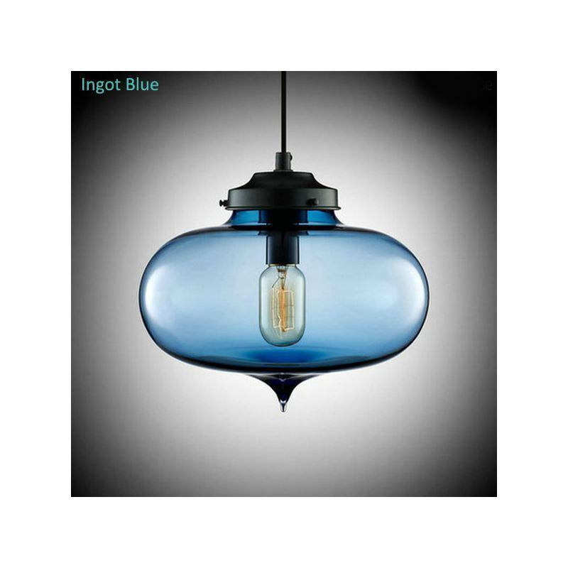 glas pendelleuchte modern in blase design 1 flammig. Black Bedroom Furniture Sets. Home Design Ideas