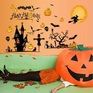 Ausverkauft Fensterdeko Halloween Deko Partyzubehor