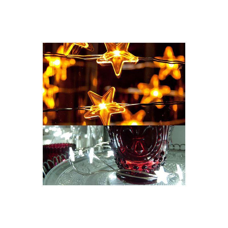 Ausverkauft led lichterkette sternen design weihnachtsdeko for Design weihnachtsdeko
