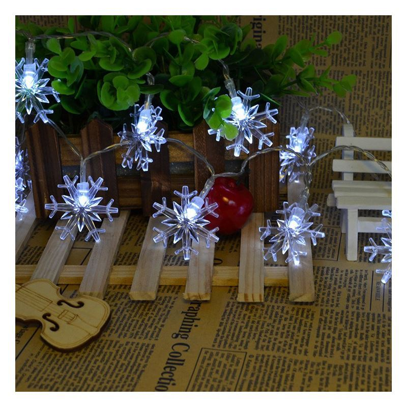 Ausverkauft led lichterkette wasserdicht schneeflocke design weihnachtsdeko - Design weihnachtsdeko ...