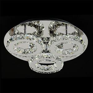 (EU Lager)Led Deckenleuchte Modern Kristall