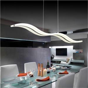 (EU Lager)Modern LED Pendelleuchte Design im Wohnzimmer