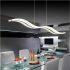 Zeige Details für (EU Lager) LED Pendelleuchte Modern Stilvoll aus Acryl im Wohnzimmer