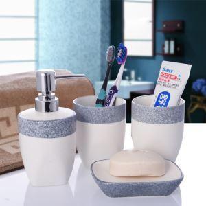 (EU Lager)Design Badset 4-teilig Keramik