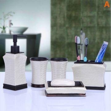 Badzubeh r badezimmer accessoires set eu lager modern for Moderne bad accessoires