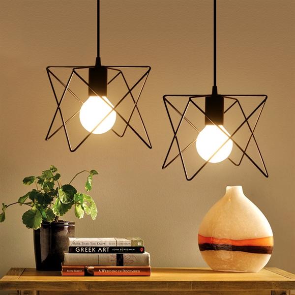 ausverkauft eu lager led pendelleuchte rustikal 1 flammig. Black Bedroom Furniture Sets. Home Design Ideas